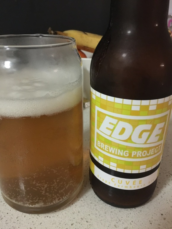 Edge Brewing Project - Cuvée Grape Farmhouse Ale