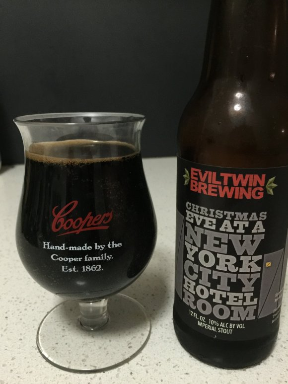 Eviltwin Brewing - Christmas Eve In A New York Hotel Room
