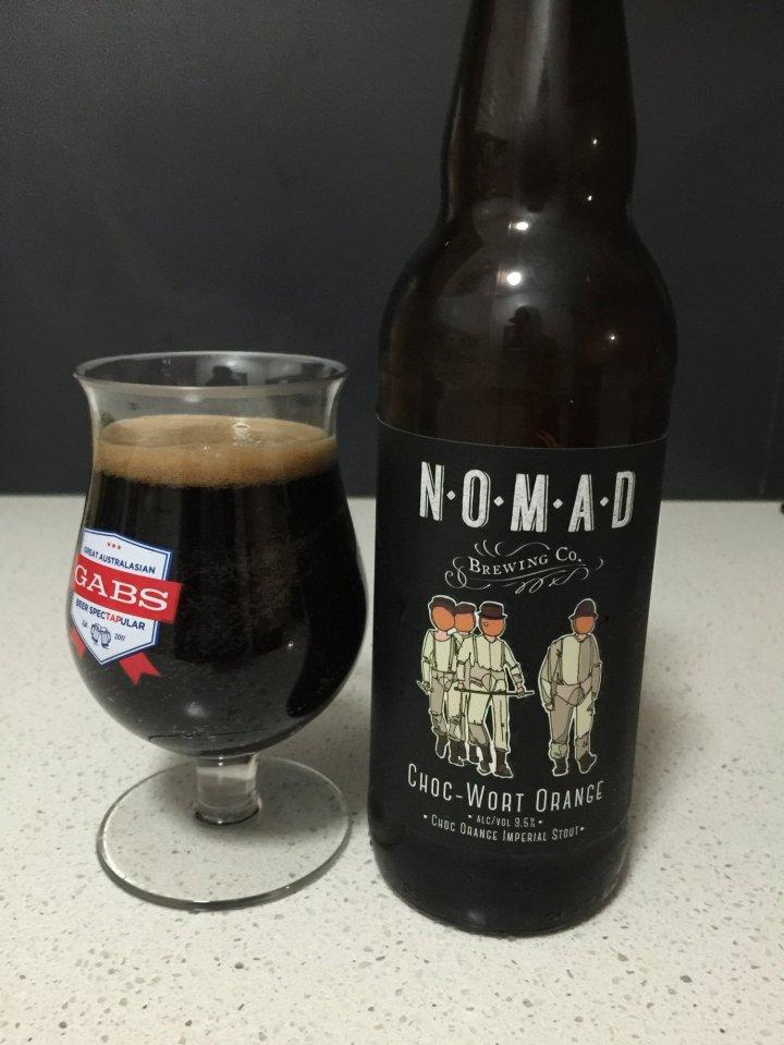 Nomad Brewing - Choc Wort Orange