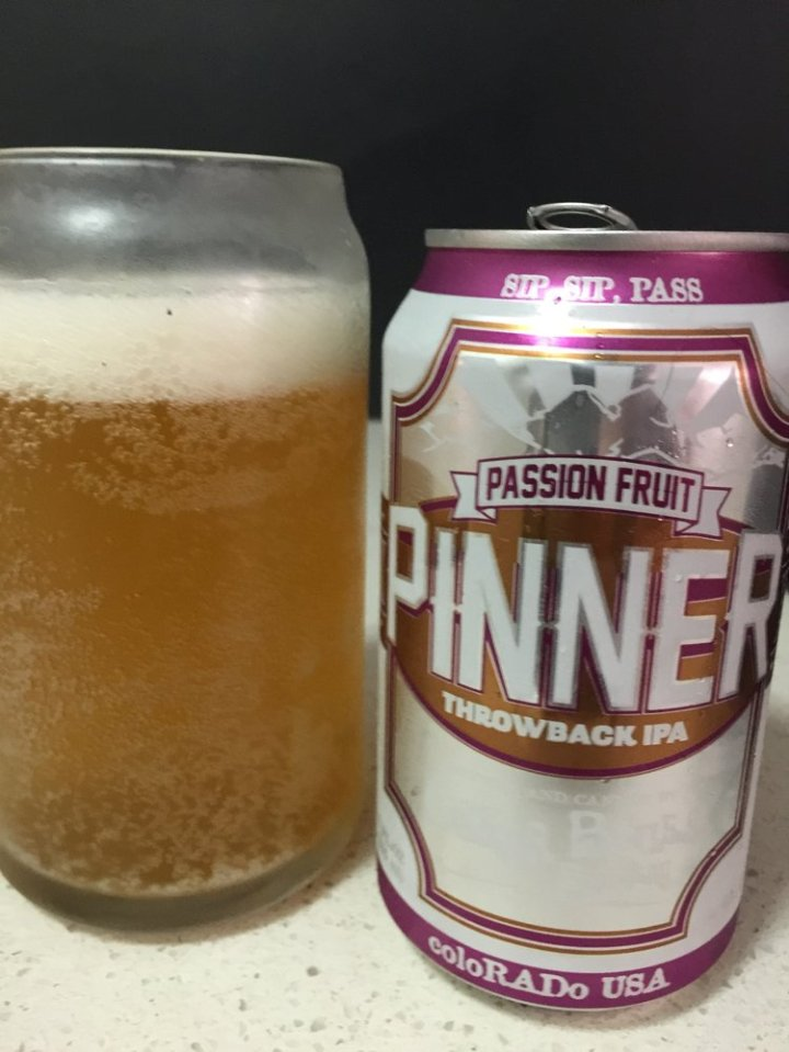 Oskar Blues Brewing Co - Passionfruit Pinner