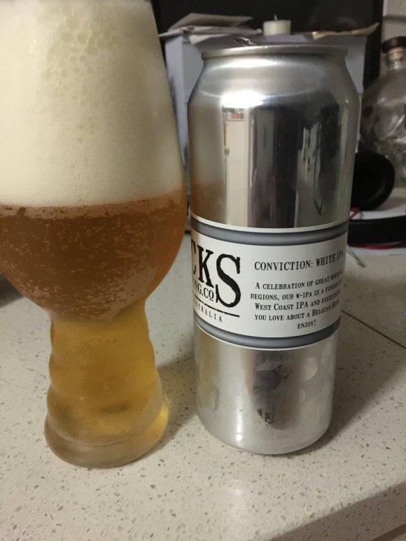 Rocks Brewing Company - Conviction Series White IPA