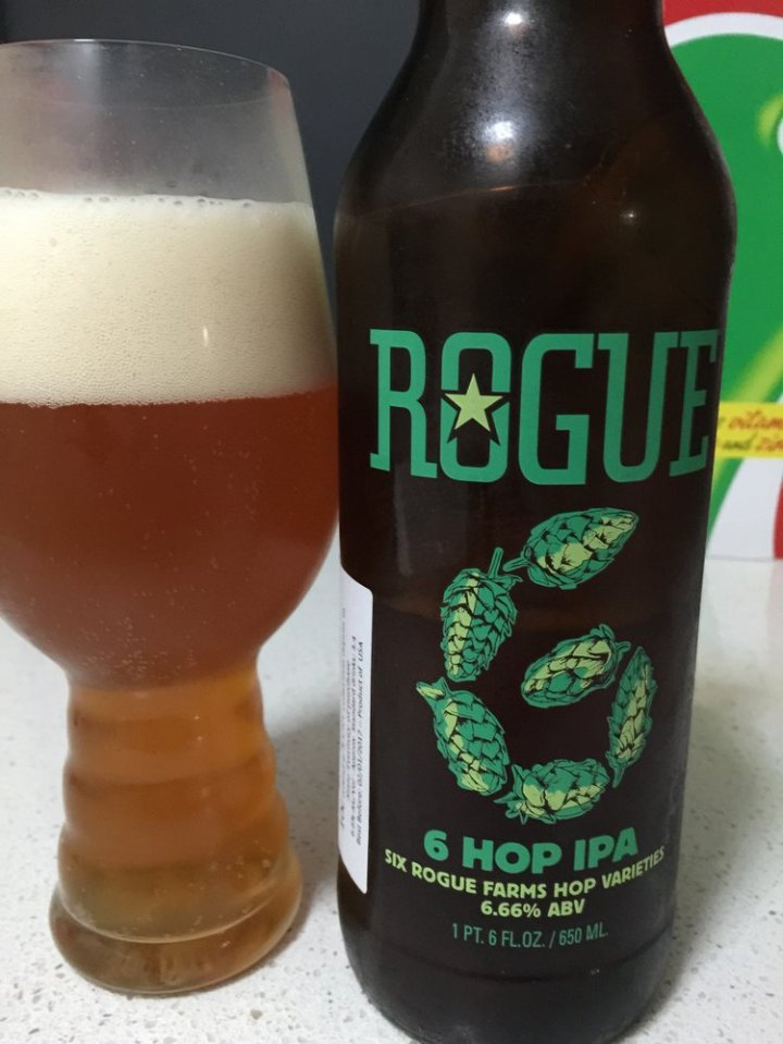 Rogue Ale & Spirits - 6 Hop IPA