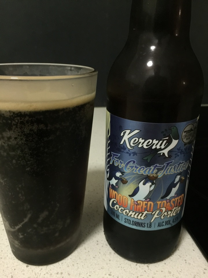 Kereru Brewing For Great Justice