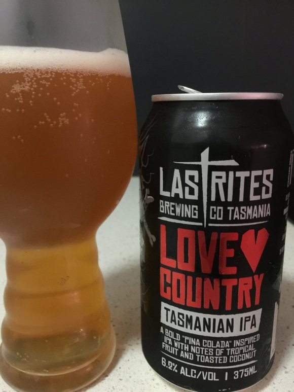 Last Rites Brewing Co - Love Country Tasmanian IPA