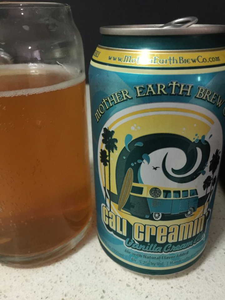 Mother Earth Brew Co - Cali Creamin'