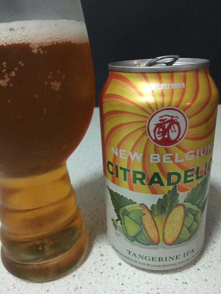 New Belgium Brewing Company - Citradelic Tangerine IPA