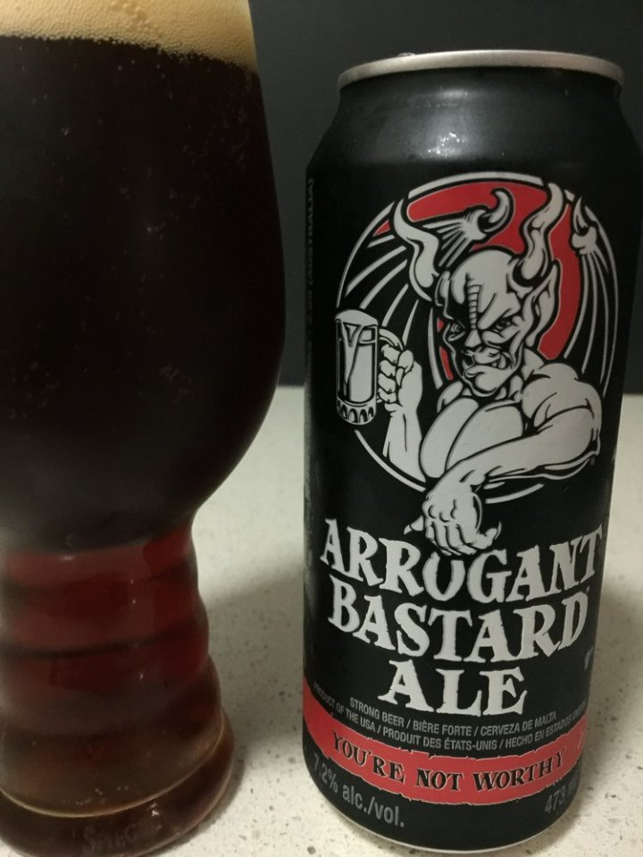 Stone Brewing Co - Arrogant Bastard Ale