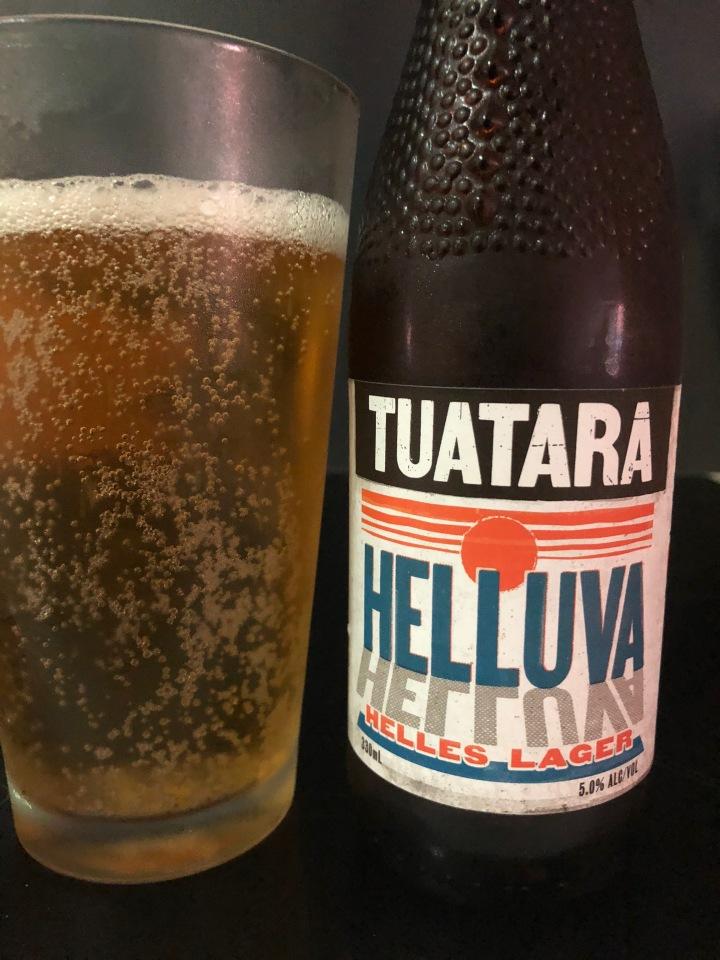 Tuatara Brewing Helluva