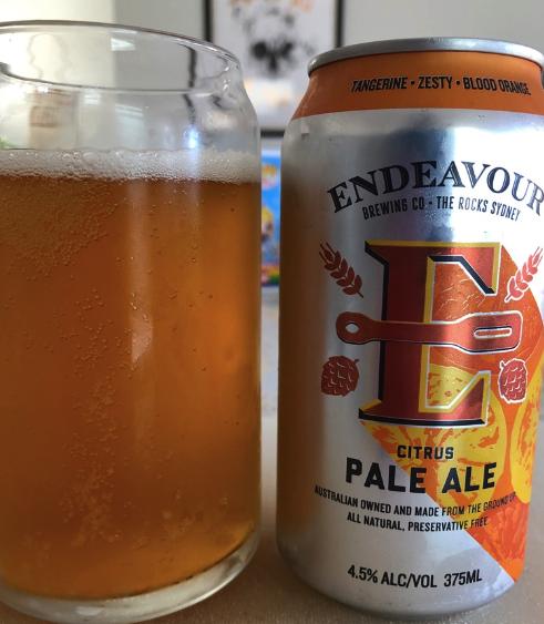 Endeavour Brewing - Citrus Pale Ale
