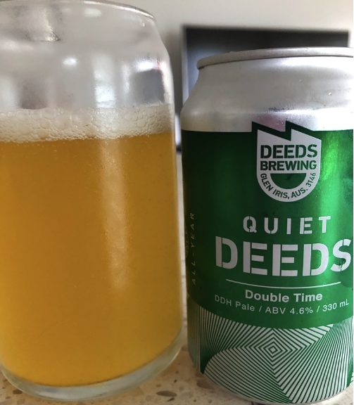 Deeds Brewing Quiet Deeds Double Time