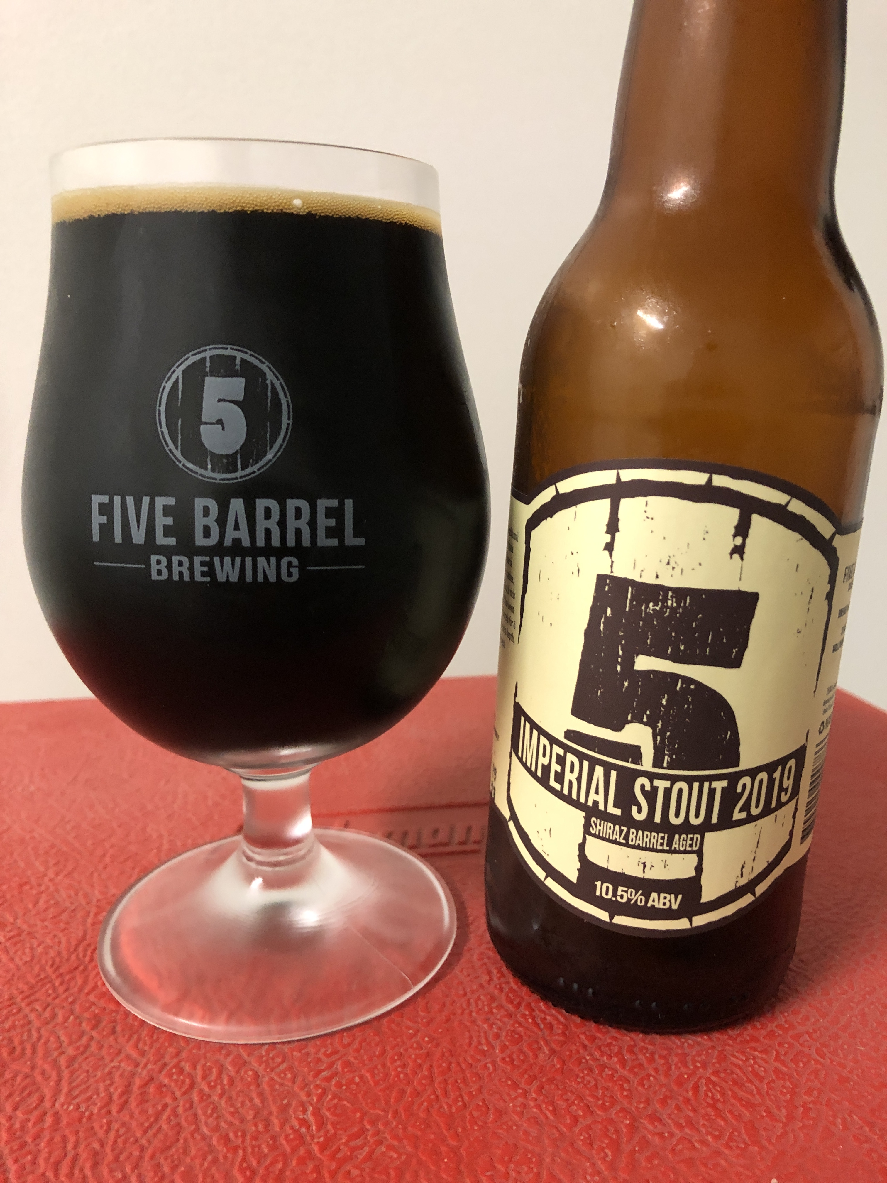 Five Barrel Brewing Imperial Stout 2019