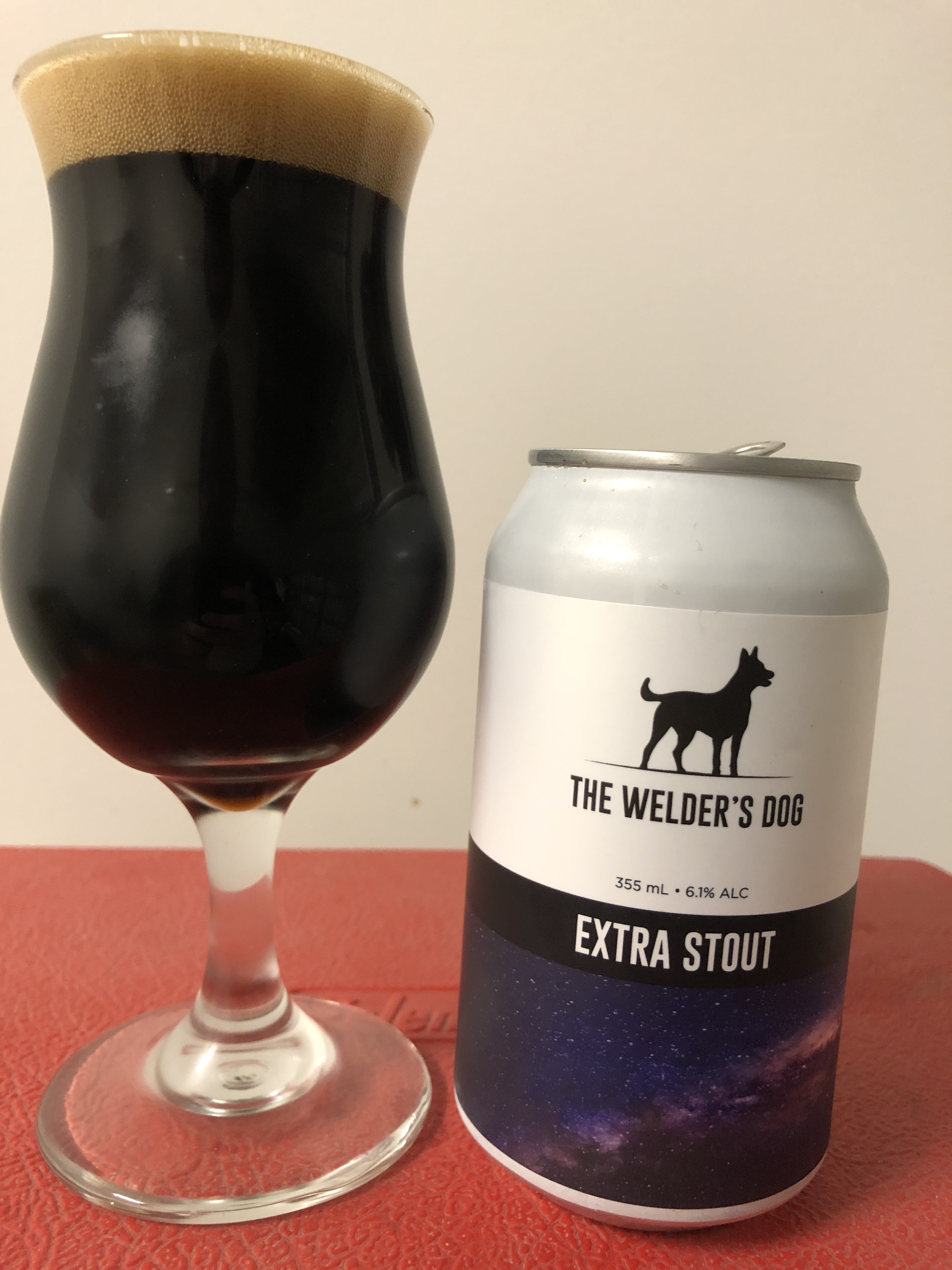 The Welders Dog Extra Stout