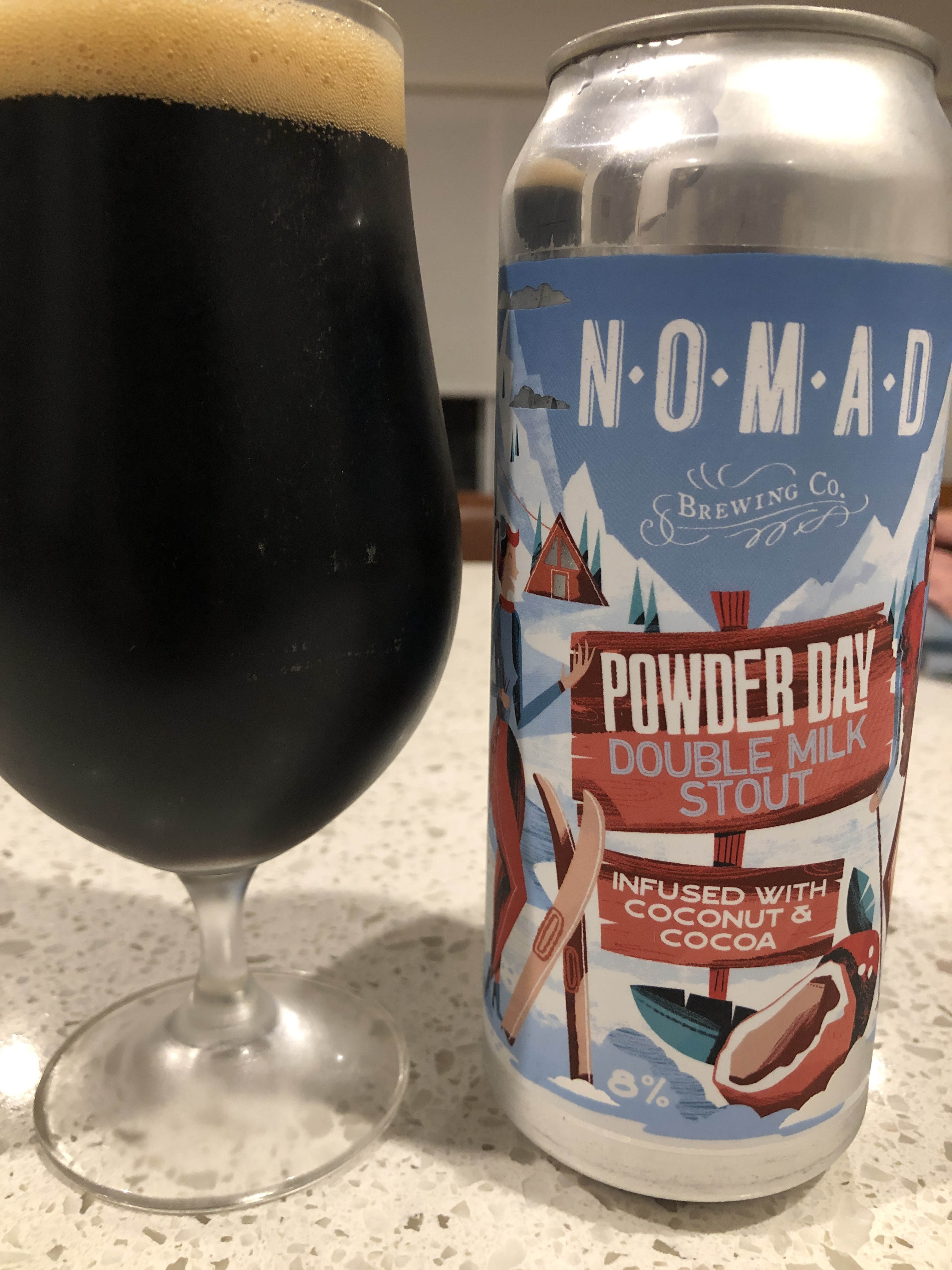 nomad powder day