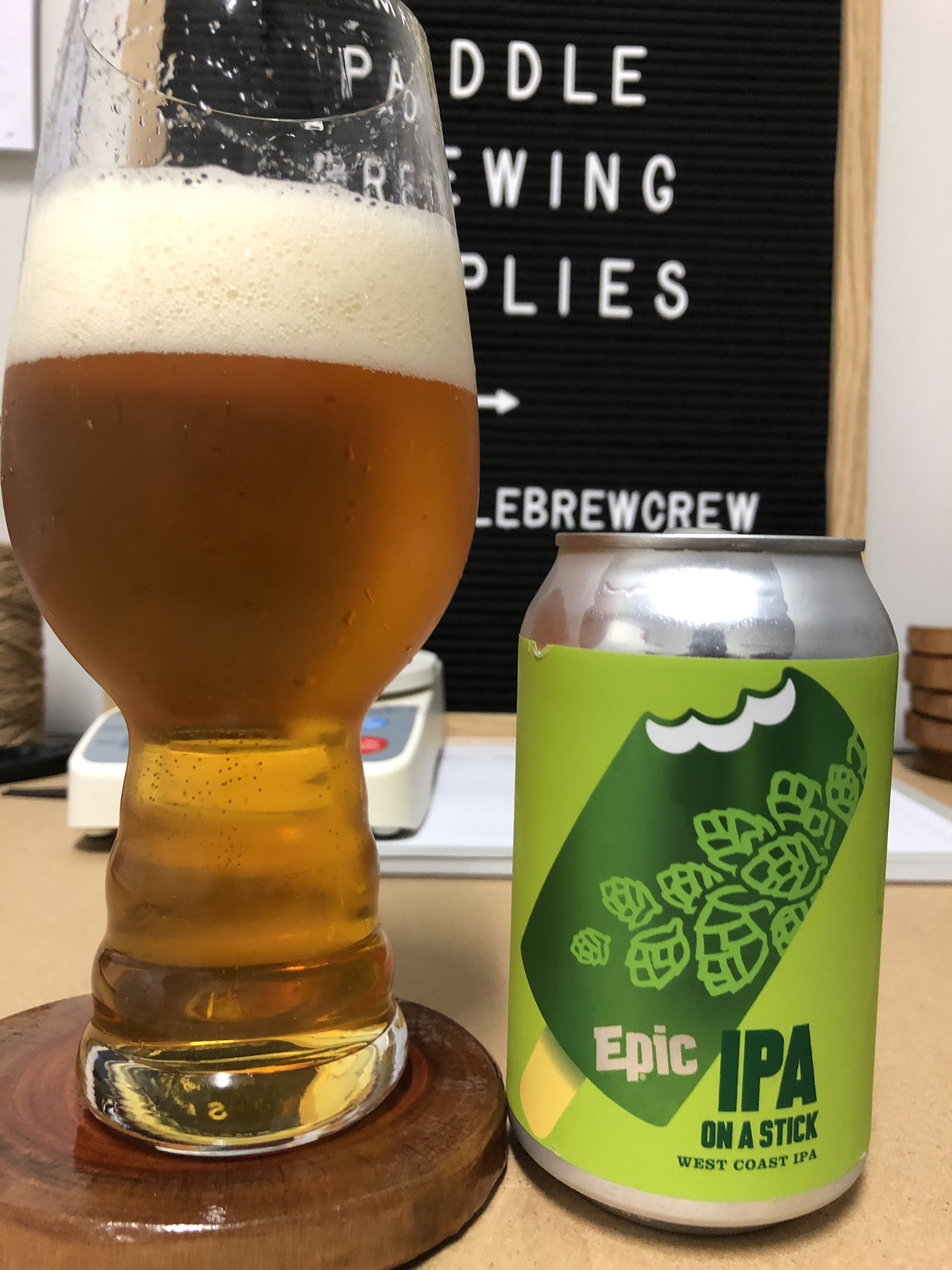 epic IPA on a stick