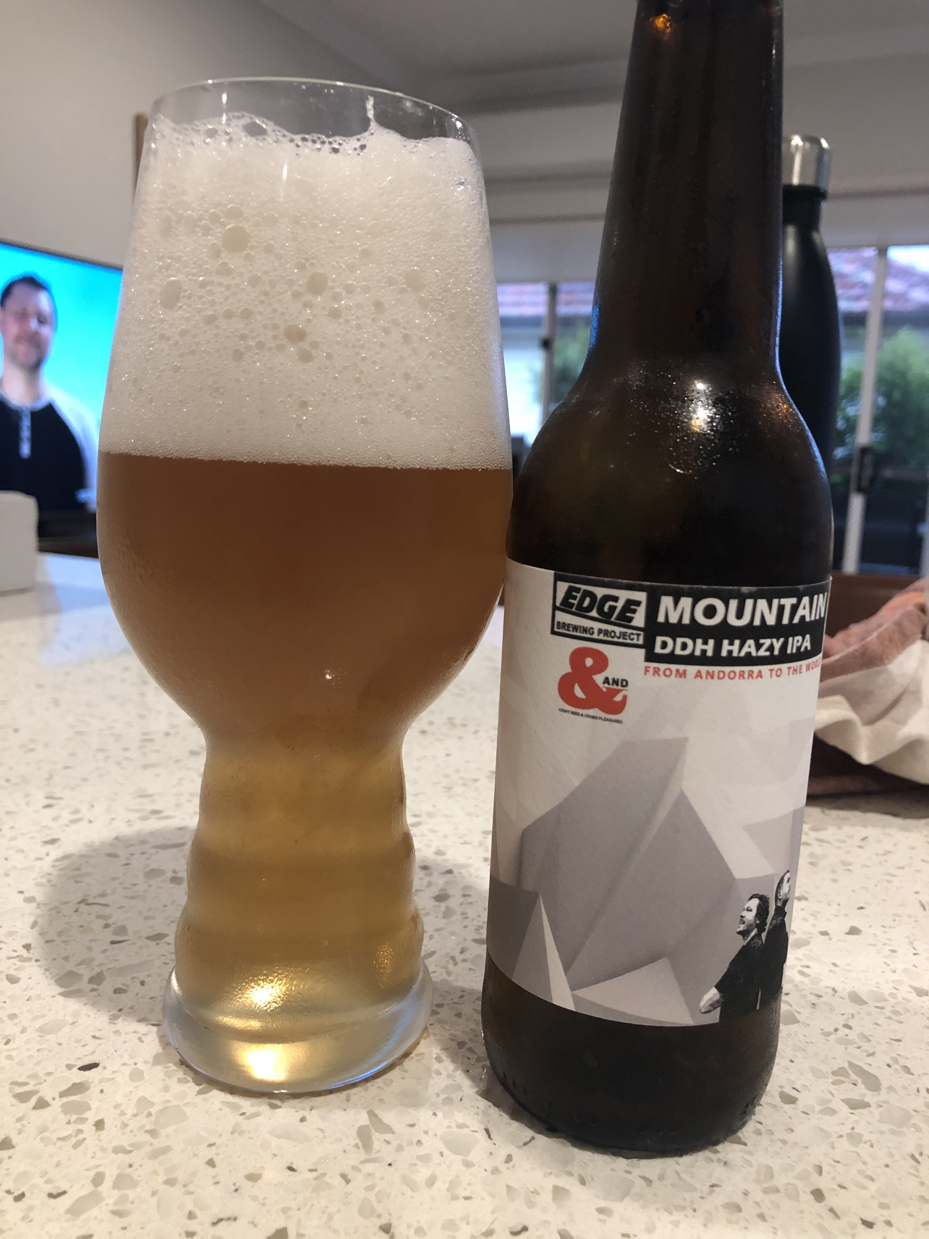 edge brewing mountain DDH hazy IPA