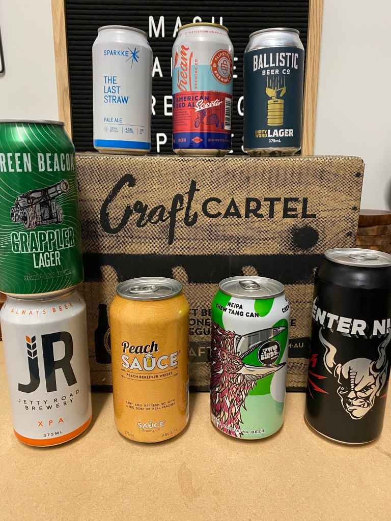 8 beer subscription box