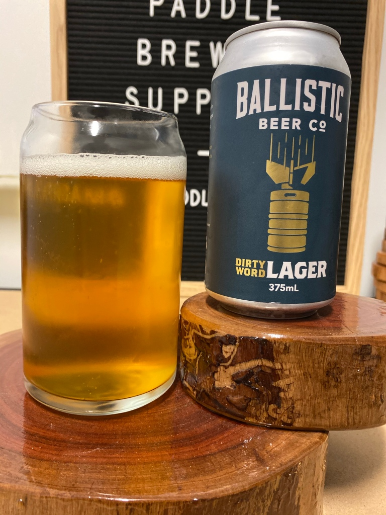 Ballistic Beer Co - Dirty Word