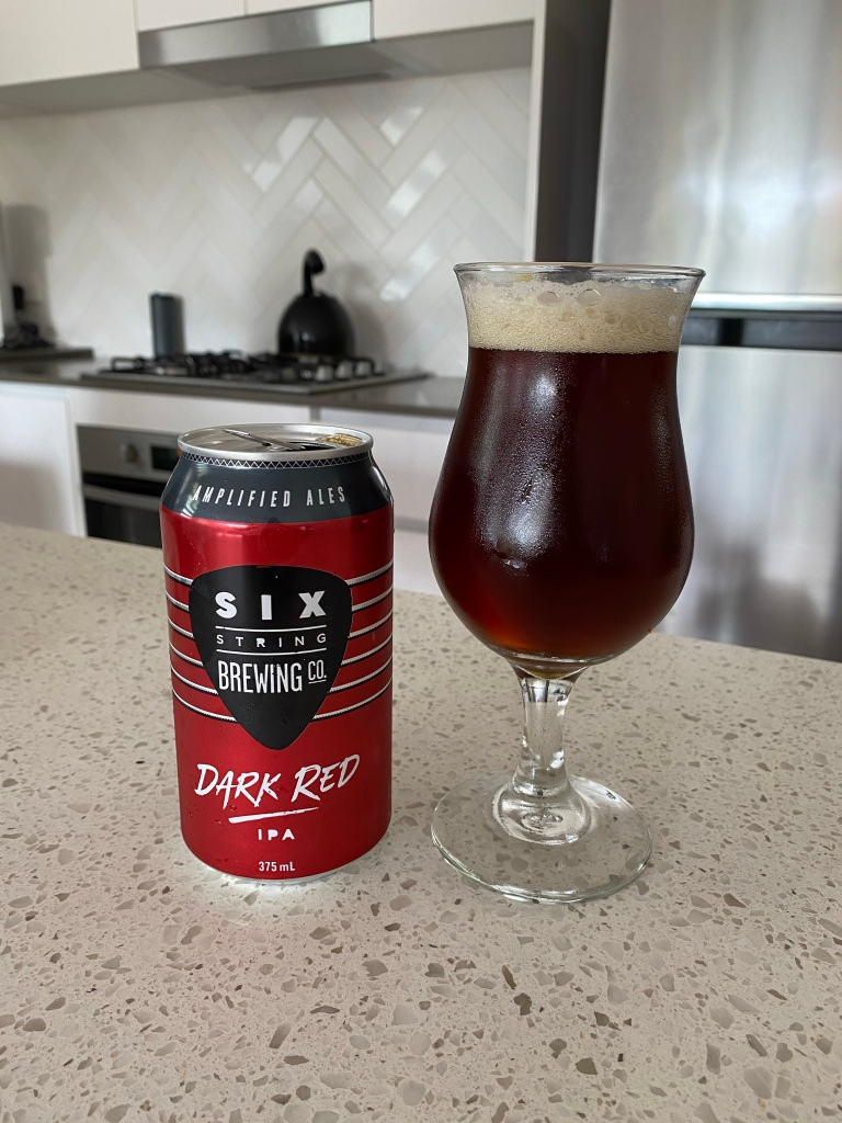 Six Strings Brewing - Dark Red IPA