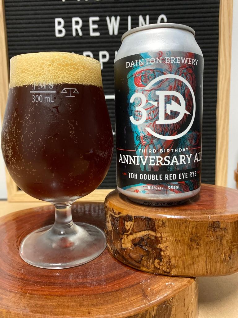 Dainton - 3D 3rd Birthday Anniversary Ale