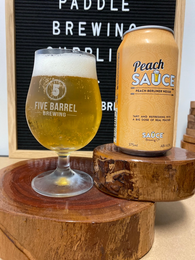 Sauce Brewing - Peach Sauce