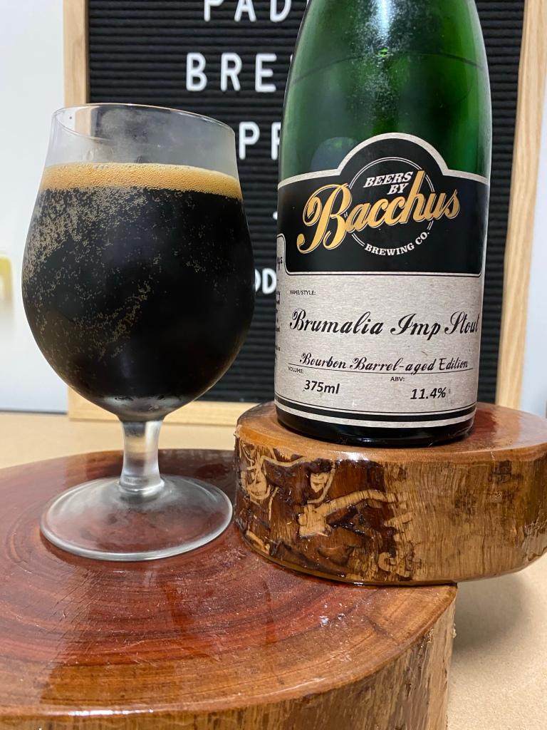 Bacchus Brewing - Brumalia Imp Stout