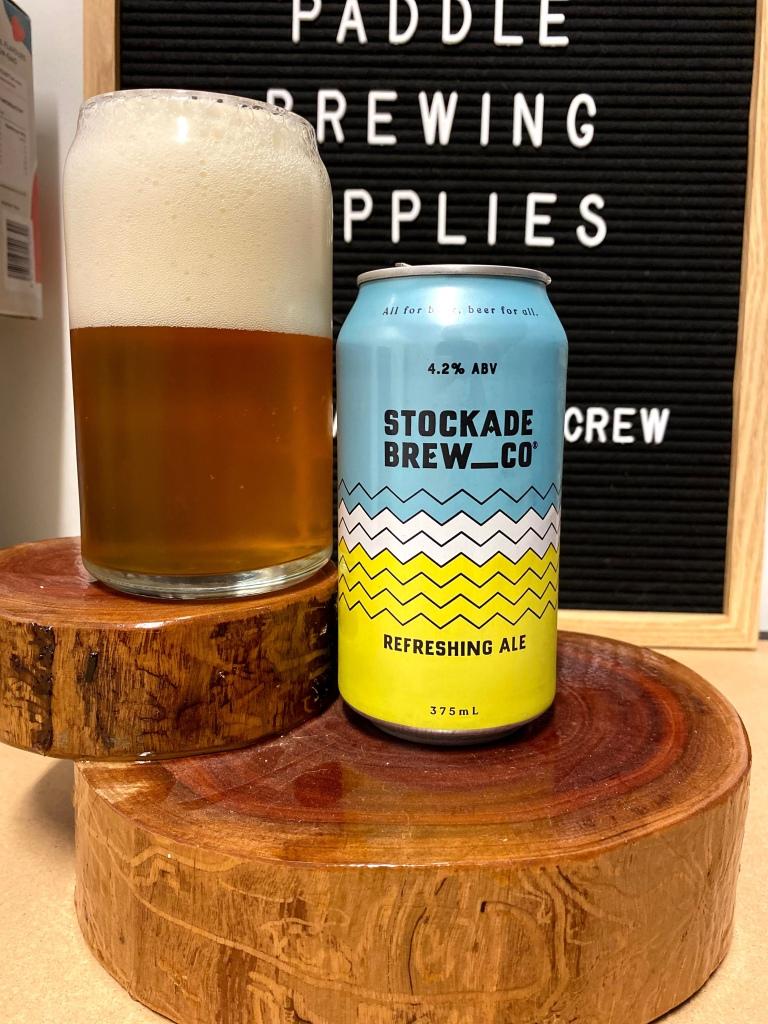 Stockade Brewing - Refreshing Ale