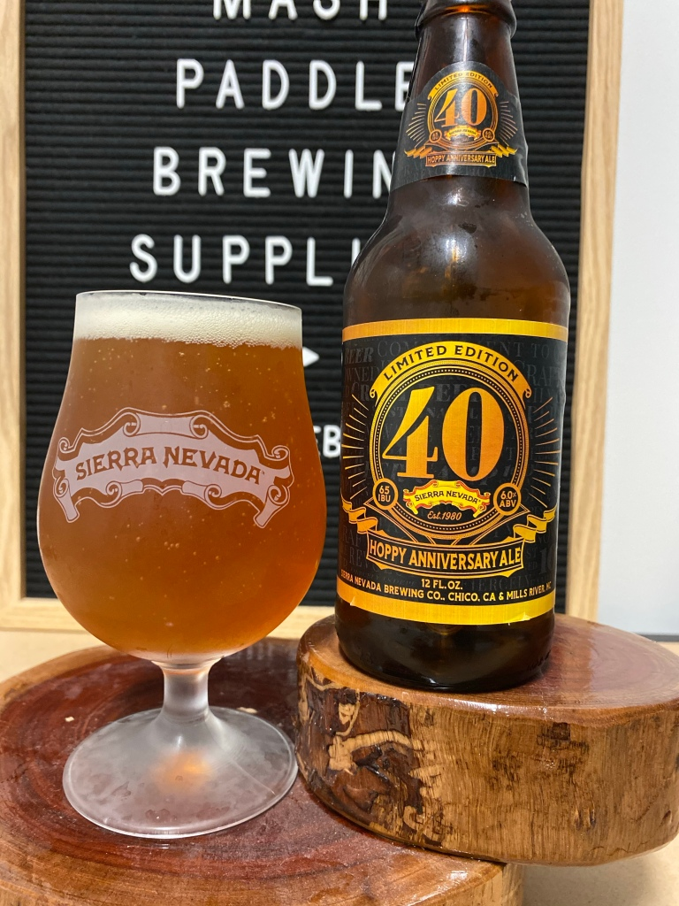 Sierra Nevada - 40th Anniversary Hoppy Ale
