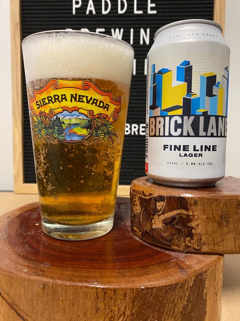 Brick Lane Brewing - Fine Line Lager
