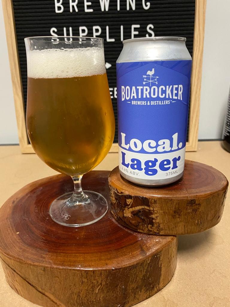Boat rocker - Local Lager