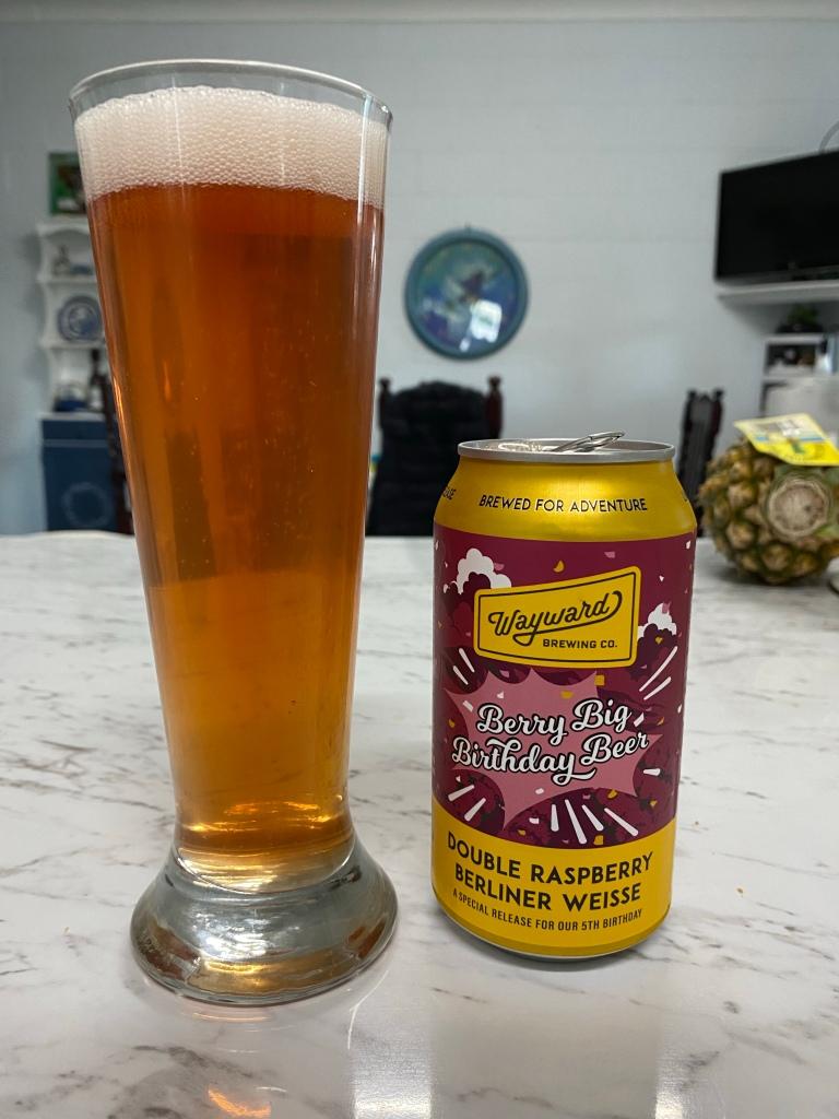 Wayward Brewing - Berry Big Birthday Beer