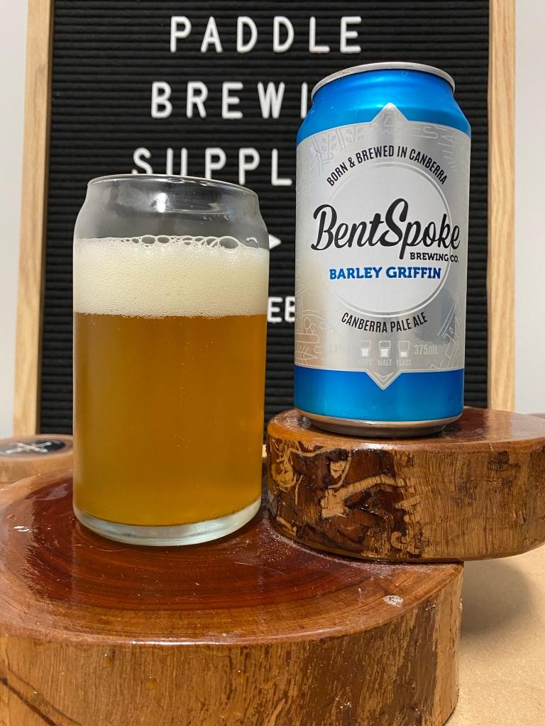 Bentspoke Brewing - Barley Griffin Canberra Pale Ale
