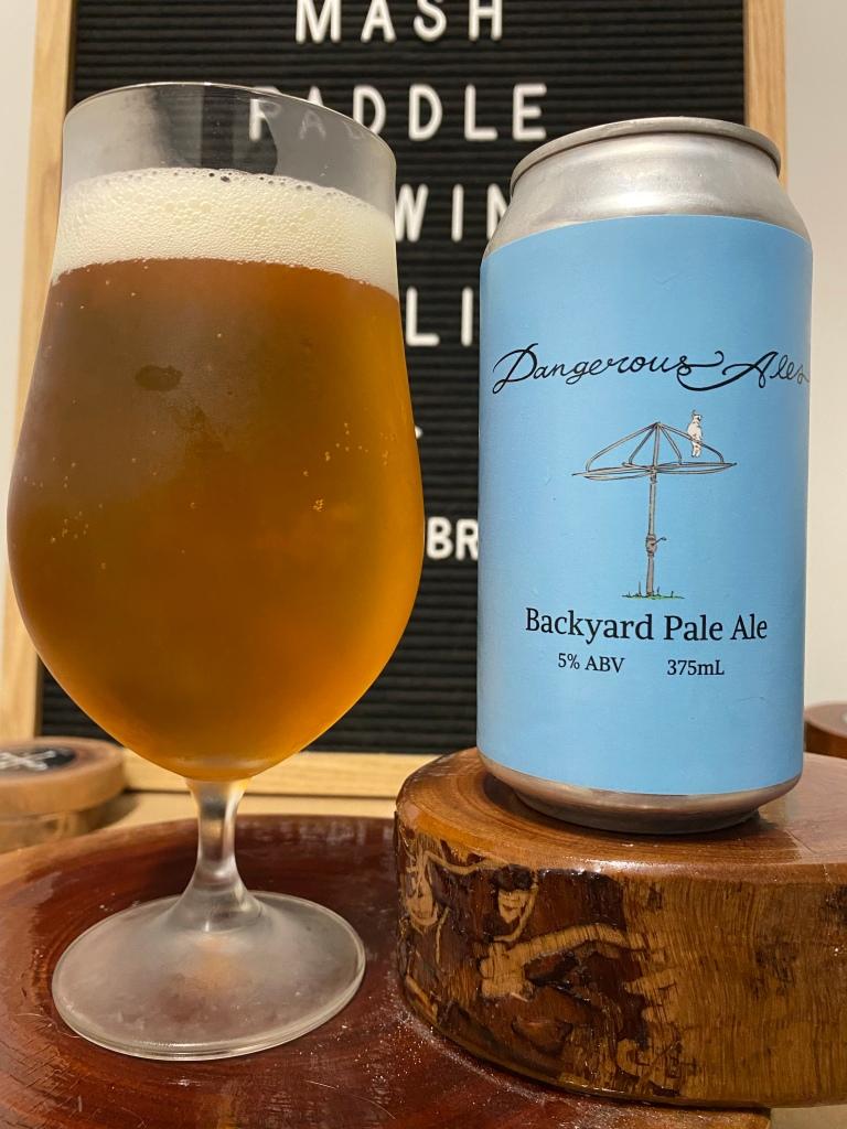 Dangerous Ales - Backyard Pale Ale