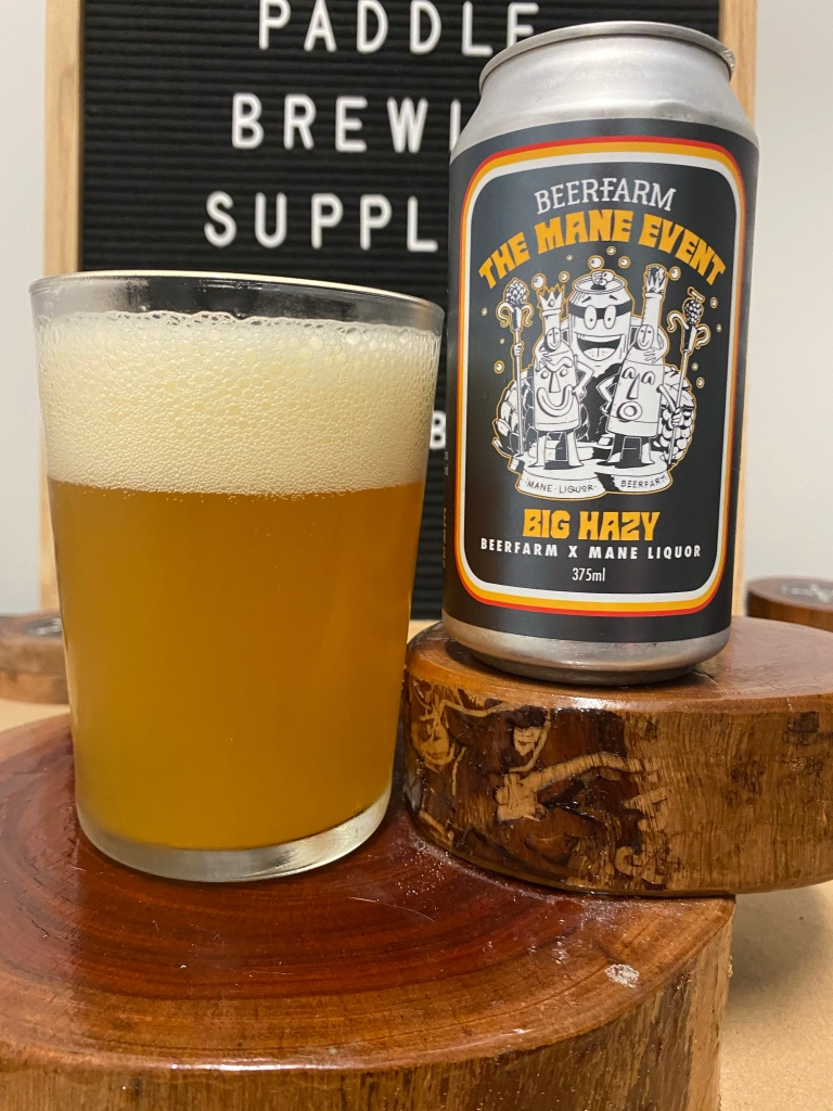 Beer Farm x Mane Liquor - The Main Event Big Hazy