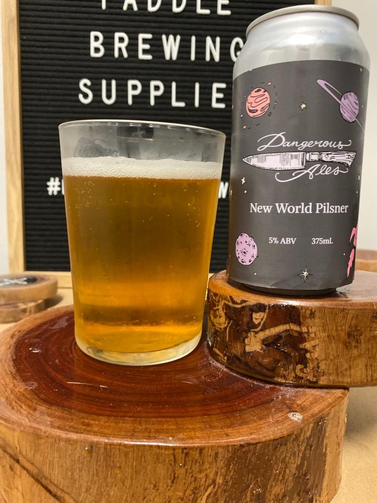Dangerous Ales - New World Pilsner