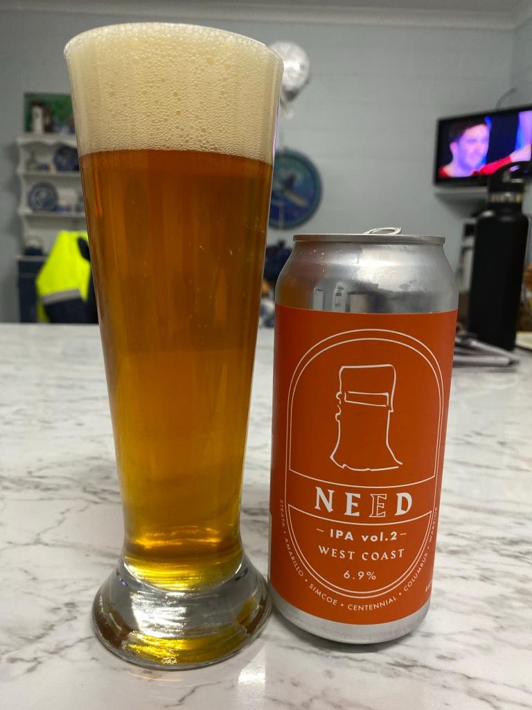 Bridge Road Brewers - NEeD West Coast IPA vol 2