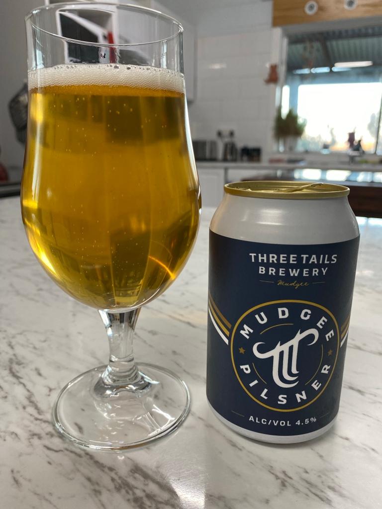 Three Tails Brewery - Mudgee Pilsner